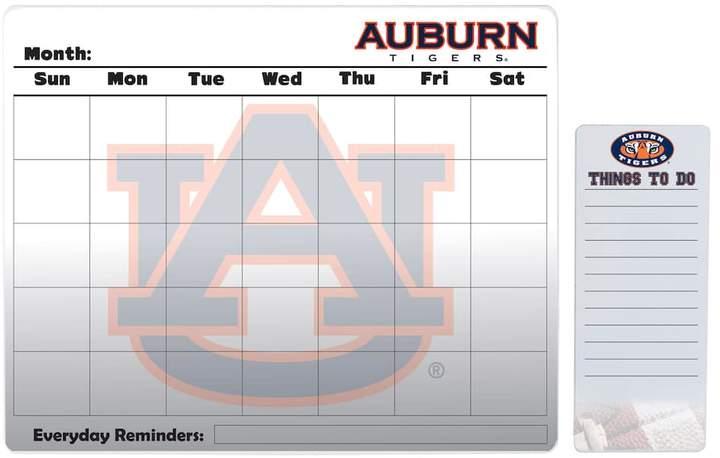 Kohl's Auburn Tigers Dry Erase Calendar & To-Do List Pad Set