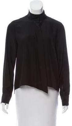 Frame Silk Cravat Long Sleeve Top w/ Tags