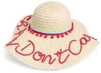 Shiraleah Beach Hair Don't Care Sun Hat