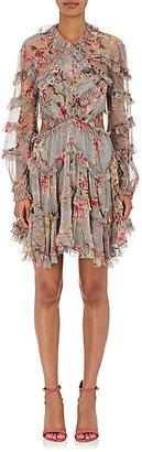 Zimmermann Women's Mercer Floral Silk Dress $995 thestylecure.com