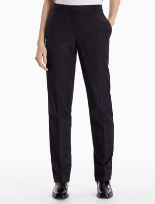 Calvin Klein skinny fit luxe wool pants