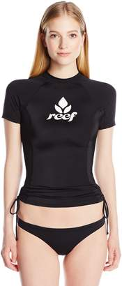 Reef Women's Cove Solids Short Sleeve Rashguard