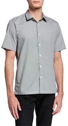 Theory Men's Irving Morris-Print Short-Sleeve Sport Shirt
