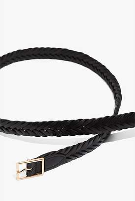Country Road Skinny Plaited Belt