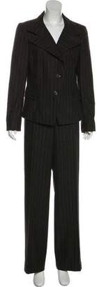 Akris Pinstripe Pant Suit