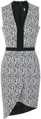 Lanvin monogram print dress