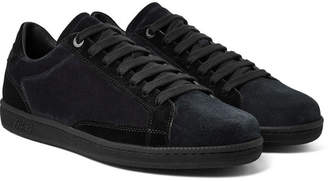 Brioni Two-Tone Suede Sneakers