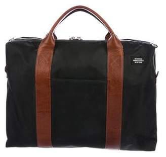 Jack Spade Leather-Trimmed Messenger Bag