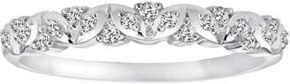 Vera Wang Simply Vera 14k White Gold 1/7-ct. T.W. Diamond Wedding Ring