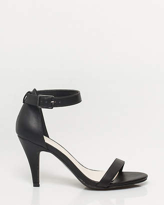 Le Château Leather-Like Ankle Strap Sandal