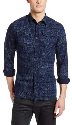 G Star G-Star Men's Tacoma Regular Fit Long Sleeve Casual Shirt
