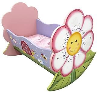 Dacor Teamson Magic Garden Rocking Doll Bed