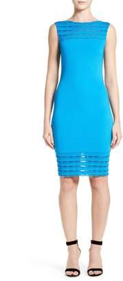 St. John Makena Knit Sheath Dress