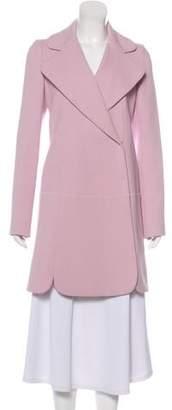 Giambattista Valli Silk-Blend Scalloped Coat