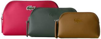 Lacoste L.12.12 Concept 3 Size Make Up Pouches Cosmetic Case