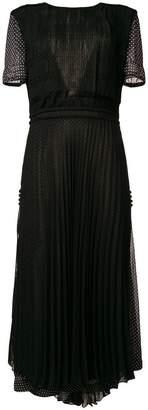 Loewe polka dot pleated dress