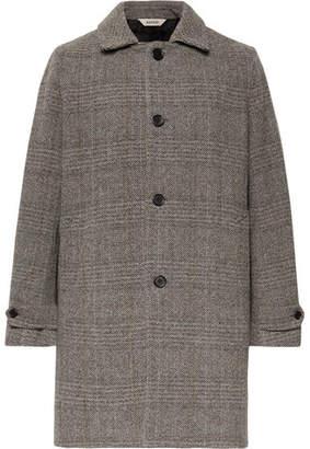 Aspesi Herringbone Wool Coat