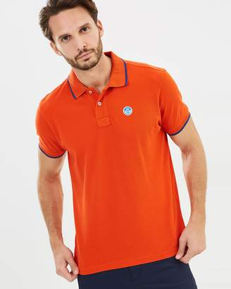 North Sails Short Sleeve Print Polo