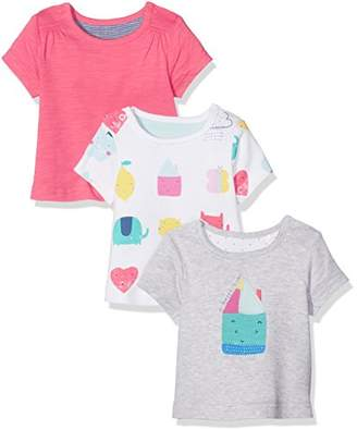 Mothercare Happy Home T-Shirts - 3 Pack, Multi, (Manufacturer Size:62)