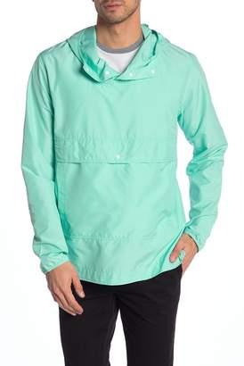 Herschel Voyage Solid Packable Hooded Anorak Jacket