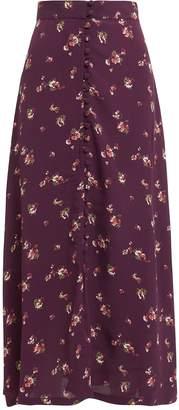 Flynn Skye Sophia Button Front Midi Skirt