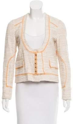 Proenza Schouler Textured Fitted Jacket