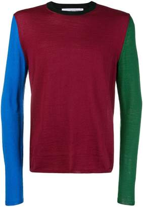 Comme des Garcons colour-block sweater