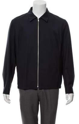 Theory Virgin Wool Zip Jacket