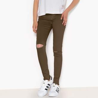 La Redoute COLLECTIONS Skinny Ripped Jeans, 10-16 Years