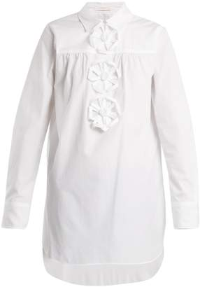 See by Chloe Origami cotton-poplin shirt