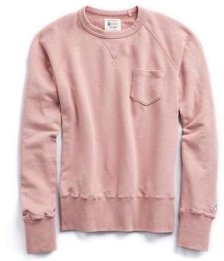 Todd Snyder + Champion Classic Pocket Sweatshirt in Rose Quartz