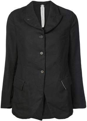 A Diciannoveventitre curved hem buttoned blazer