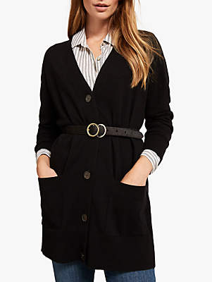 Oversized Cardigan, Black