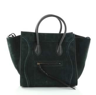 Celine Green Leather Handbag