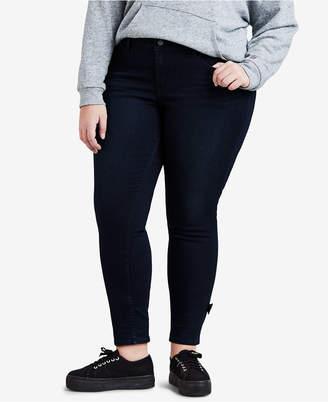 Levi's Plus Size 711 Stretch Bow Ankle Jeans