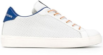 Leather Crown classic lo-top sneakers
