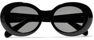 Acne Studios Mustang Round-frame Acetate Sunglasses