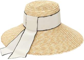 Eugenia Kim Annabelle Straw Hat W/ Grosgrain Band