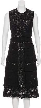 Simone Rocha Sleeveless Lace Dress