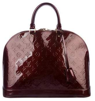 30d593183ced Pre-Owned at TheRealReal · Louis Vuitton Vernis Alma GM