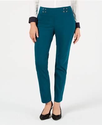 JM Collection Petite Lace-Up Pants
