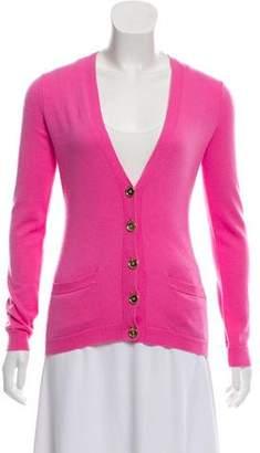 Ralph Lauren Cashmere Button-Up Cardigan