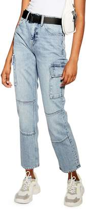 Topshop Straight Jeans 32-Inch Leg