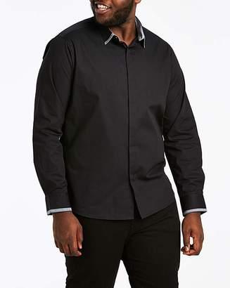 Jacamo Trim Detail L/S Shirt Long
