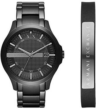 1259bff9f45 Armani Exchange Mens Analogue Quartz Watch with Stainless Steel Strap AX7101