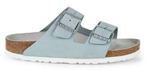 Birkenstock Women's Arizona Soft-Footbed Nubuck Sandals