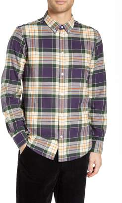 Wesc Ovavi Plaid Flannel Shirt