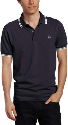 Fred Perry Men's Twin Tipped Polo Shirt, /New Yellow