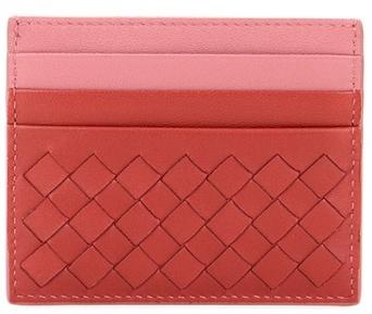 Bottega VenetaBottega Veneta Intrecciato Leather Card Holder