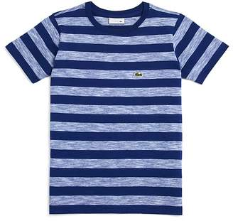 Lacoste Boys' Striped Tee - Little Kid, Big Kid